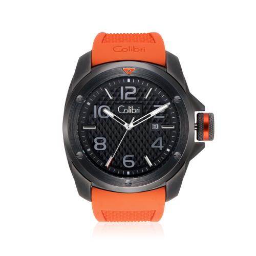 colibri horloge monza automatic orange. Black Bedroom Furniture Sets. Home Design Ideas